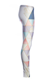 Official Hasbro My Little Pony Pastel Geometric Leggings