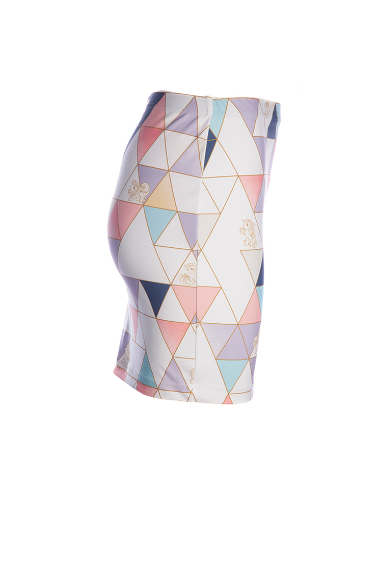 Official Hasbro My Little Pony Pastel Geometric Mini Skirt