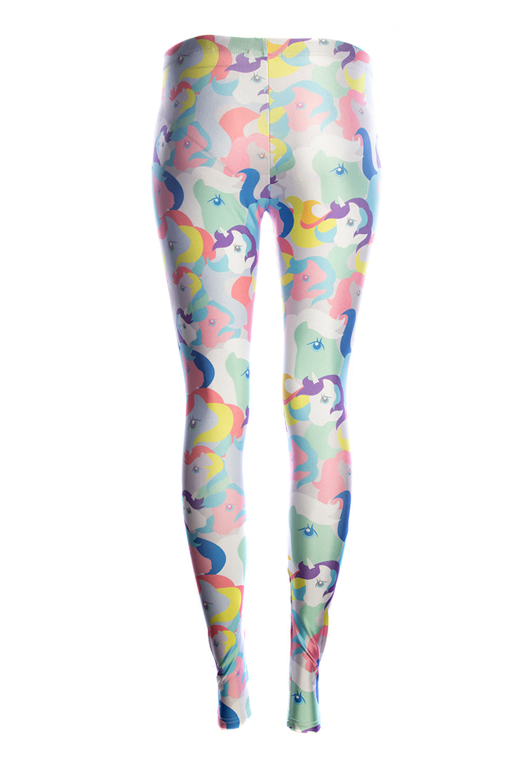 Official Hasbro My Little Pony All The Ponies Leggings