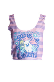 Official Hasbro My Little Pony Some Pony Wonderful Crop Top