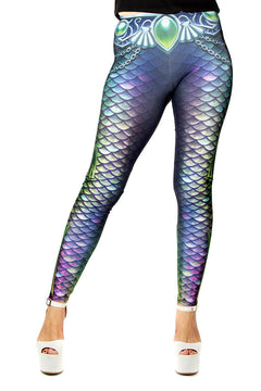 Kellee Art Deep Sea Mermaid TOASTY Leggings