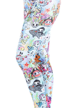 KIDS Tokidoki SeaPunk Leggings