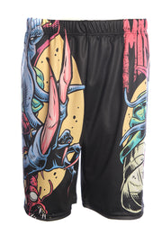 Official Dungeons & Dragons Official Mindflayer Basketball Shorts