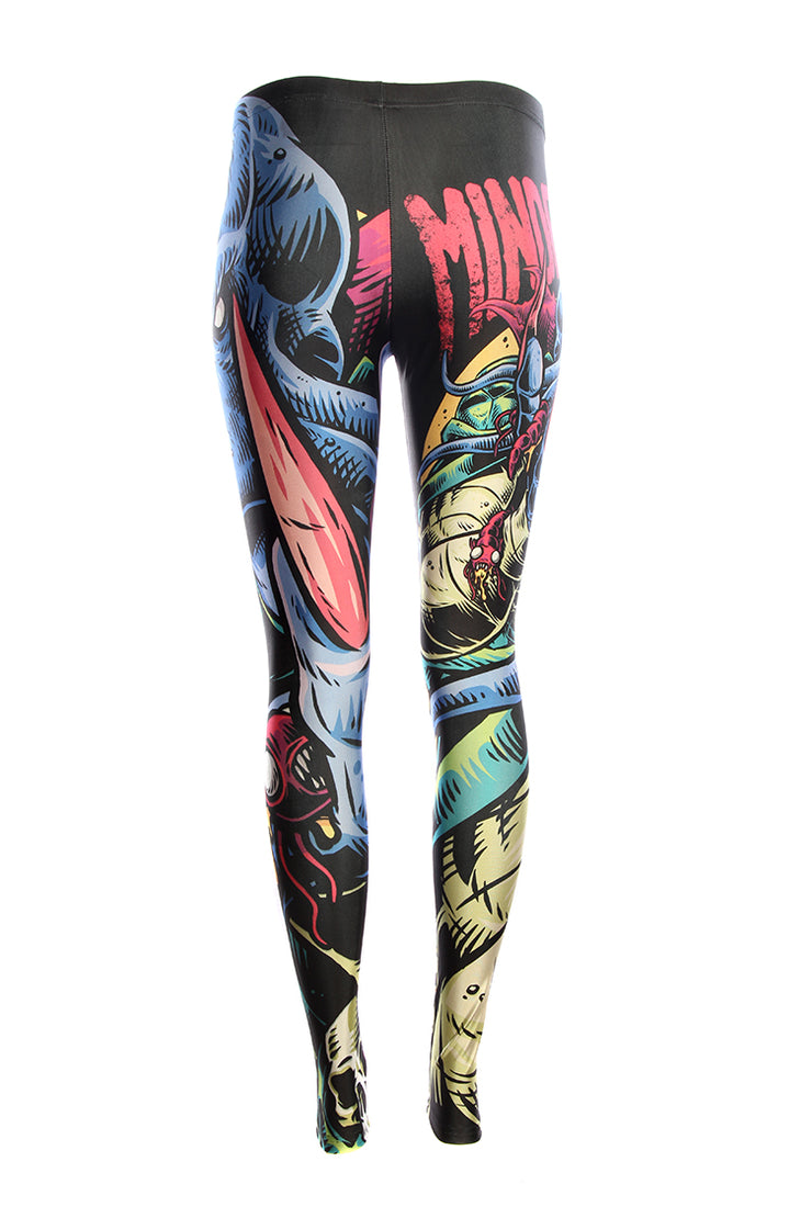 Official Dungeons & Dragons Official Mindflayer Leggings