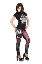 "KIDS ""Awesome"" Mike The Miz WWE Leggings"
