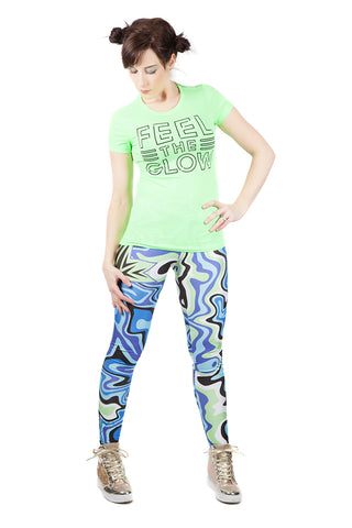 """Feel the Glow"" Naomi WWE Leggings"