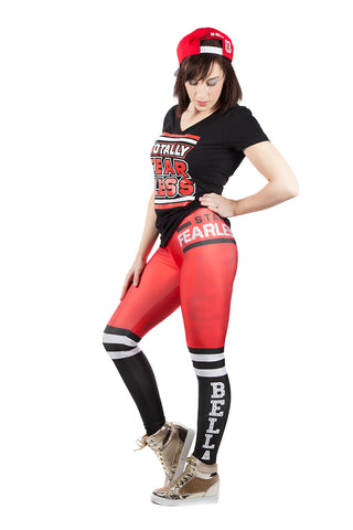 """Superstar"" Nikki Bella WWE Leggings"