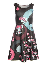 Official Phat Kandi Oh Yeah Lolly Bear Skater Dress