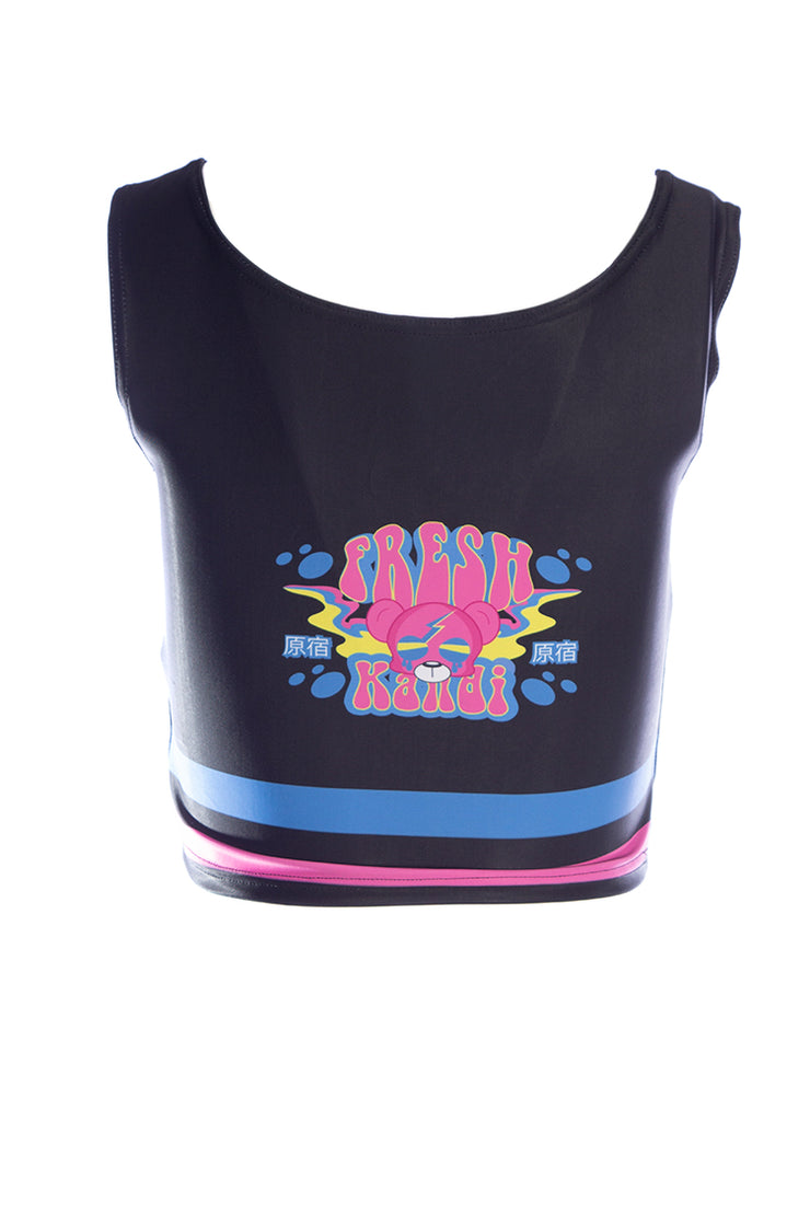 Official Phat Kandi Fresh Vibes Fitness Crop Vest Top