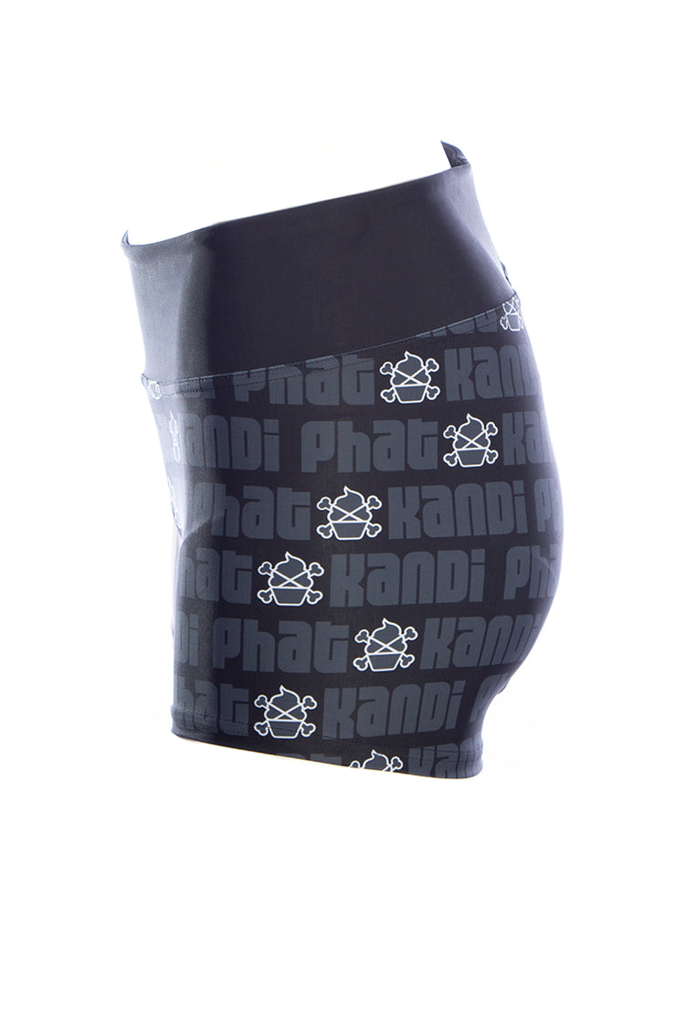Official Phat Kandi Muffin Logo Booty Fitness Shorts