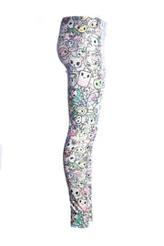Official Tokidoki Pastel Pattern Leggings