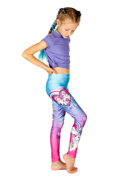 KIDS Hasbro My Little Pony Friends 4 Eva Leggings