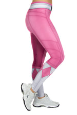 Hasbro Mighty Morphin Power Rangers Pink Leggings