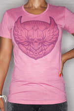 Logo T-Shirt Ladies Pink