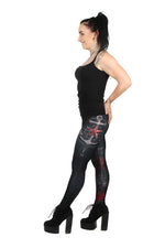 Anne Stokes Pirate Skull Leggings