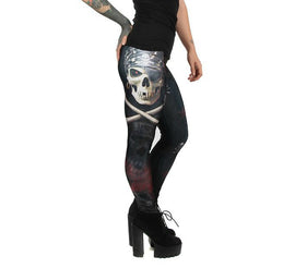 KIDS Anne Stokes Pirate Skull Leggings