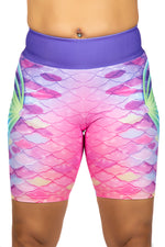 Prismatic Dream Mermaid Shorts