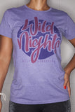 Wild Nights T-Shirt Ladies Purple