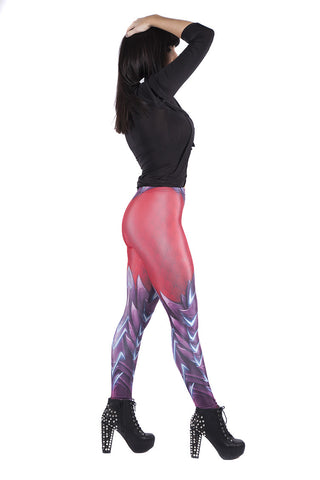 Red Dragon Skin Leggings
