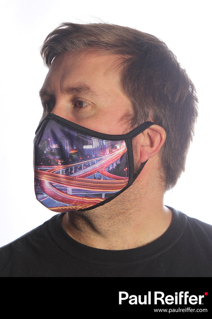 Freeway by Paul Reiffer Face Mask