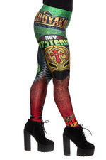 "WWE Rey Mysterio ""619"" Leggings"