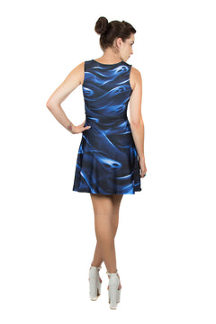 Kellee Art Dark @ Heart River of Souls Blue Dress