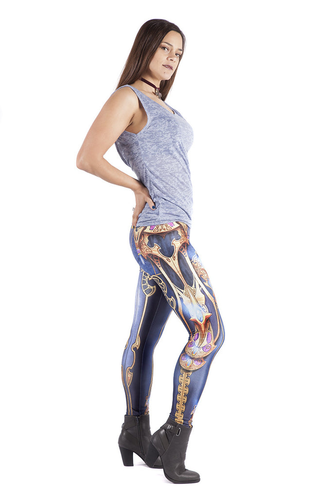 UK Leggings Royal
