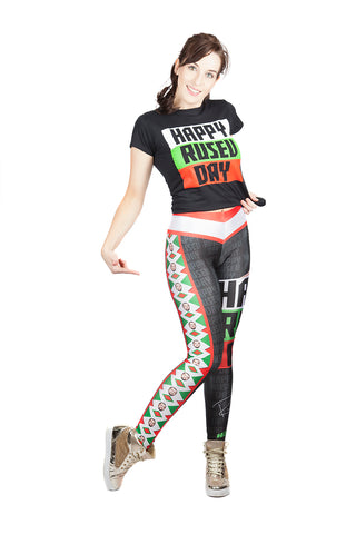 """It's Rusev Day"" Rusev WWE Leggings"