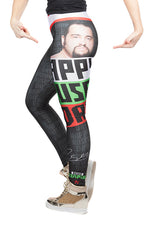 "KIDS  ""It's Rusev Day"" Rusev WWE Leggings"