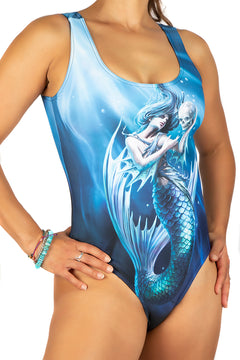 Anne Stokes Sailors Run Body Swim Suit