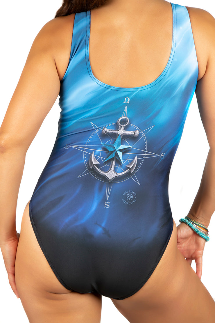 Official Anne Stokes Sailors Run Body Swim Suit