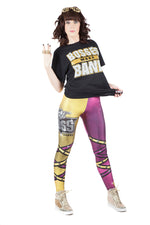 "WWE Sasha Banks ""Legit Boss"" Leggings"