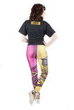 """Legit Boss"" Sasha Banks WWE Leggings"