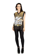 "WWE Sasha Banks ""Legit Boss"" Slamarang Tank Top"