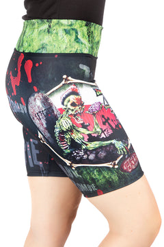 Alchemy England Zombie Diner Cycle Fit Shorts