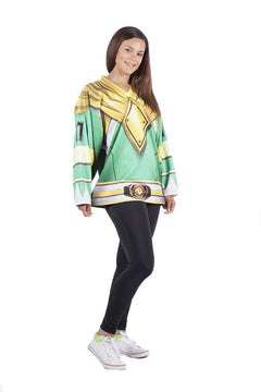 Hasbro Mighty Morphin Power Rangers Green Jersey