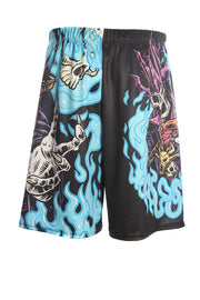 Official Dungeons & Dragons Official Necromancer Basketball Shorts