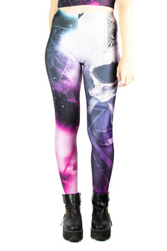 Alchemy England Galaxy Skull Leggings