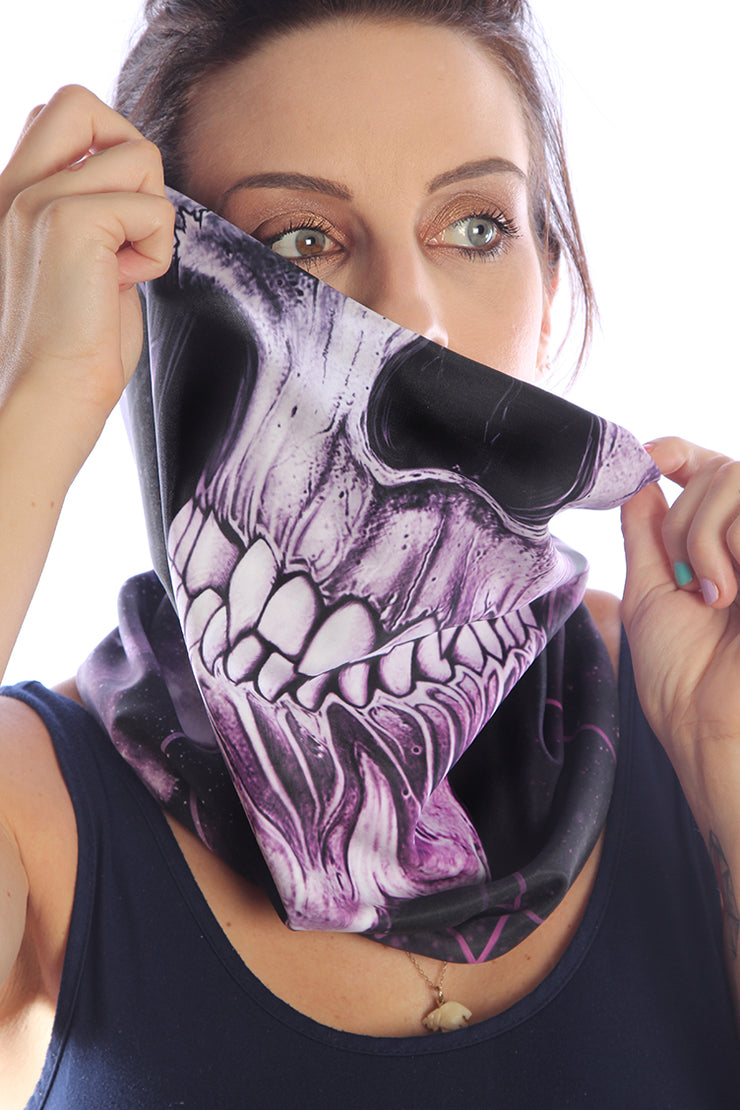 Alchemy Skull Snood