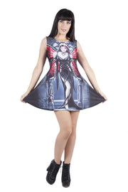 Official Anne Stokes Aracnafaria Dress