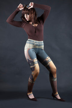 Broadsman Steampunk Leggings