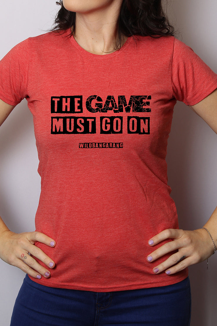 "Wild Bangarang ""The Game Must Go On"" Tee"