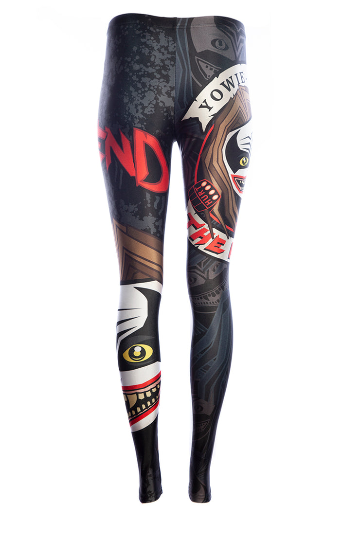 Official WWE The Fiend Emoji Leggings