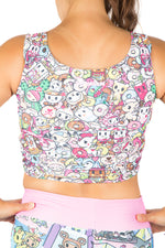 Tokidoki Pop Vest Crop Top