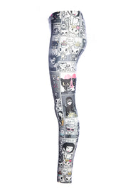 Official KIDS Tokidoki Comic Leggings