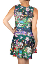 Tokidoki Camp Toki Skater Dress
