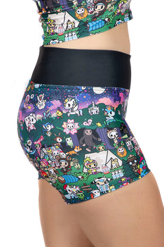 Tokidoki Camp Toki Shorts