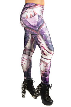 Games Workshop Warhammer Purple Tyranids Leggings