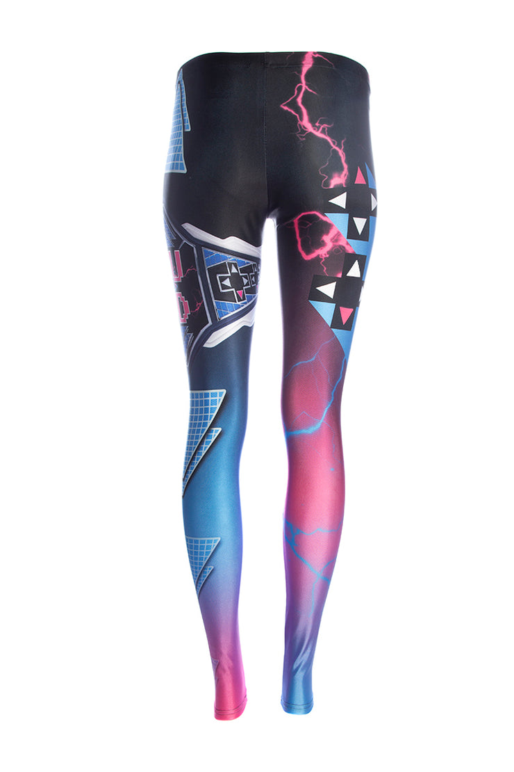 Official WWE Up Up Down Down Leggings