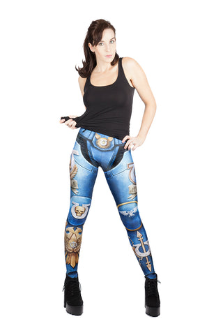 KIDS Games Workshop Warhammer Ultramarines Leggings